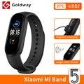 Xiaomi mi Band 5 умный браслет 4 цвета AMOLED экран miband 5 Smartband фитнес-тренажер Bluetooth спортивный водонепроницаемый смарт-браслет