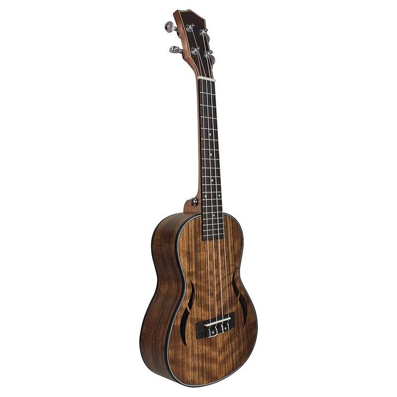 26 Inch Ukulele Walnut Wood Tenor Ukulele 18 Fret Acoustic Guitar Ukelele Mahogany Fingerboard Neck Hawaii 4 String Guitarra