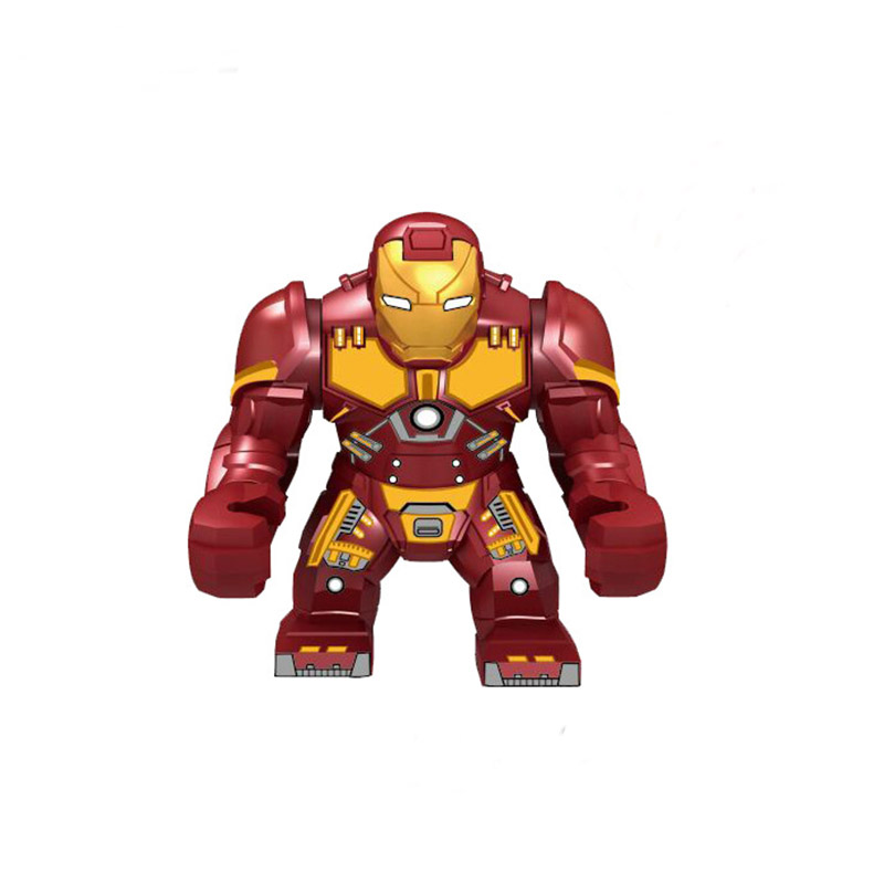 Avengers 4 Iron Man Action Figure Thanos Black Panther Hulk Glove Blocks Compatible Marvel Toy in Blocks from Toys Hobbies