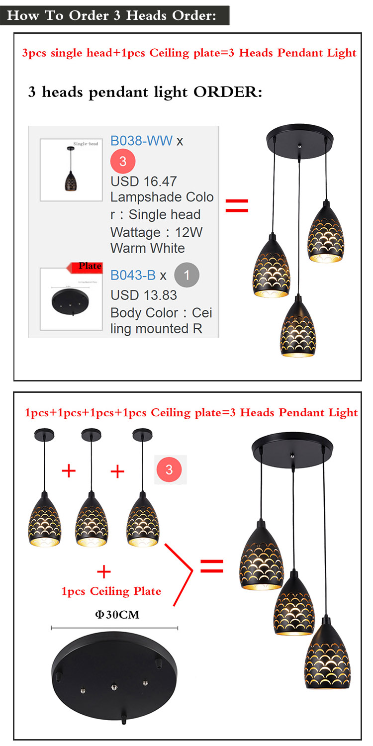 H73b52ca17da64272a6a8b805b2743454V Living Room Lamps | Living Room Ceiling Lights | Indoor Modern LED Ceiling Lights Simple restaurant living room bedroom Lighting 12W fixtures Scaly hollow style iron ceiling lamp