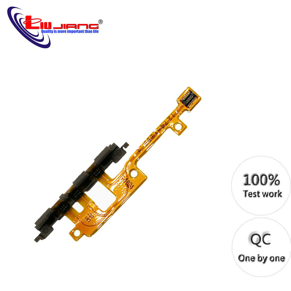 Power ON/OFF Button For Sony Z1 Z2 Z3 Z5 Z5P M2 X Mini XA XA1 X2 X2P Volume Switch Button Flex Cable Replacement Repair Parts
