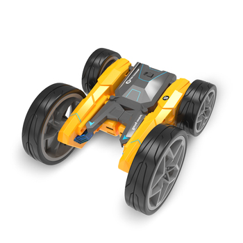 Remote Control Double-sided Stunt Car Deformable Long-lasting Endurance Luminous 2.4g Rc Rolling Stunt Car Kids Children Toy Car image