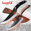 Handmade Forged Stainless Steel Kitchen Chef  Boning Knifes Fishing Knife Meat Cleaver Butcher Knife Meat Cleaver Hunting Knives 1
