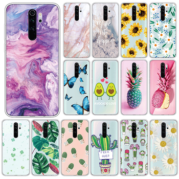 Case For Xiaomi Redmi Note 8 Pro Soft TPU Back Cover For Xiomi Redmi Note8 Pro Note8Pro 6.53 Phone Cases Silicone Fundas Coque image