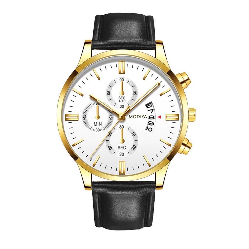 Men Luxury Stainless Steel Watch Quartz Business Calendar Wristwatch New relogio masculino curren watch men часы мужские Reloj 5