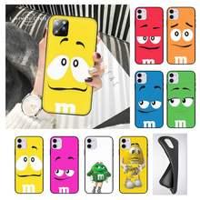 M&M's Chocolate Phone Cases Case For Samsung A6 A6s A9 A7 A8 A30 A31 A40 A10 A20 A530