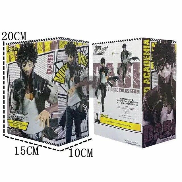 18cm My Hero Academia Dabi 애니메이션 피규어 Boku no Hero Academia Dabi Vol.2 PVC 액션 피규어 Collectible Model Doll Toys