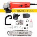 OBDL 1080W 11000r/min amoladora angular eléctrica para el hogar DIY lijado corte Metal pulidor para máquina de pulido herramienta eléctrica