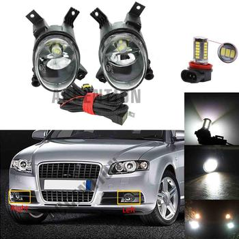 New Front LED Bumper Fog Lamp Fog Light Wire For Audi A4/Avant/A4 B7 2005 2006 2007 2008 A3 04-13 image