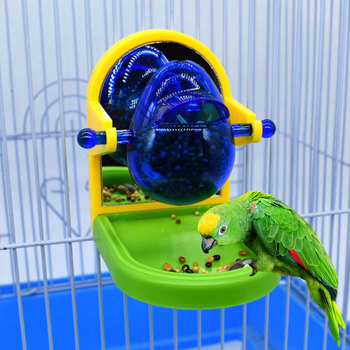 Parrot Toy Bird Interesting Gameplay Fun Food Leakage Train Durable Intellectual Bird Toy Parrots Training Toys Food Container image