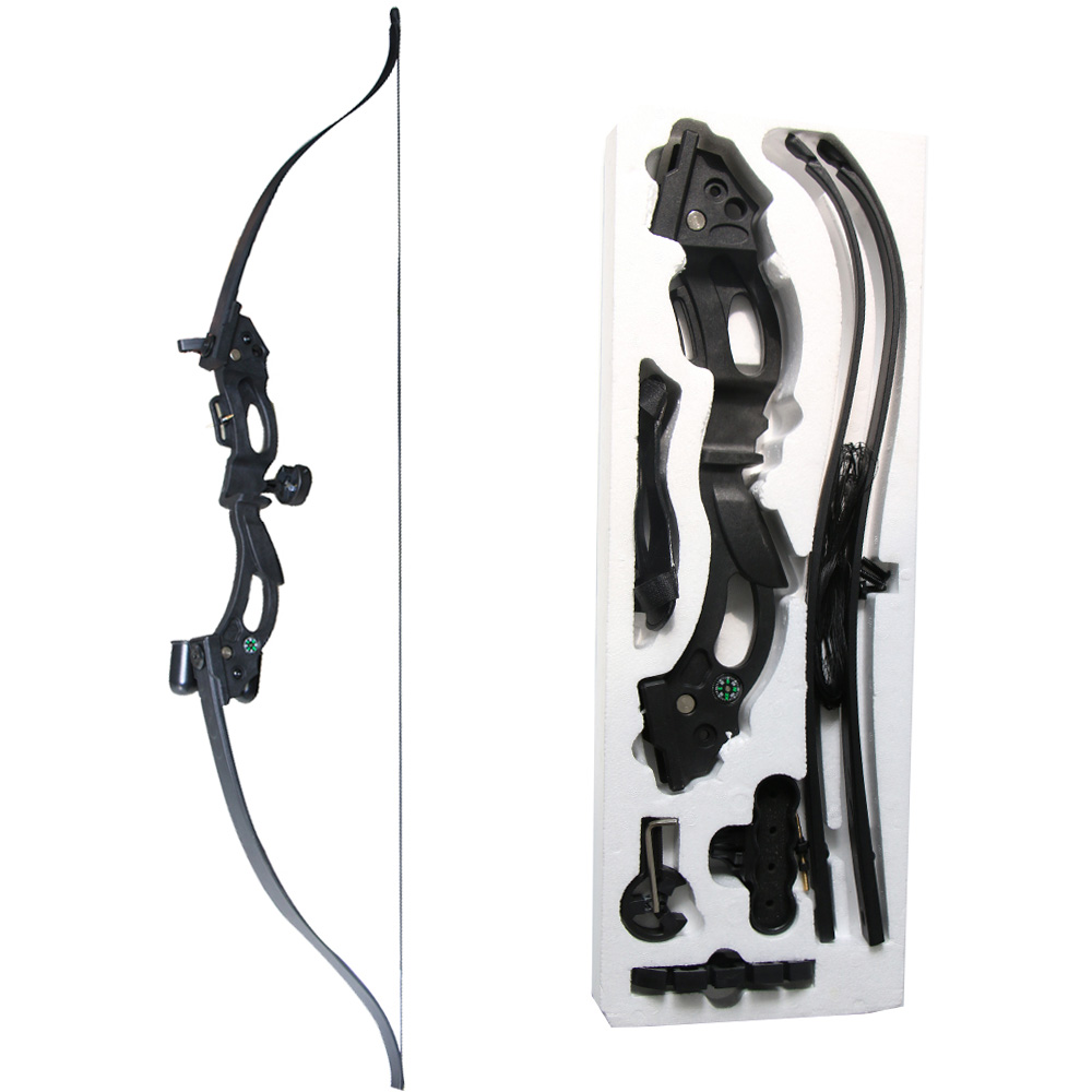 Archery Recurve Bow Set Black Tag Game Takedown Bow For Adult Children Outdoor Sports Shooting Bow Accessories Target
