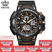 SMAEL Sport Uhr Männer 2021 Uhr Männlichen LED Digital Quarz Handgelenk Uhren männer Top Marke Luxus Digital-uhr relogio Masculino