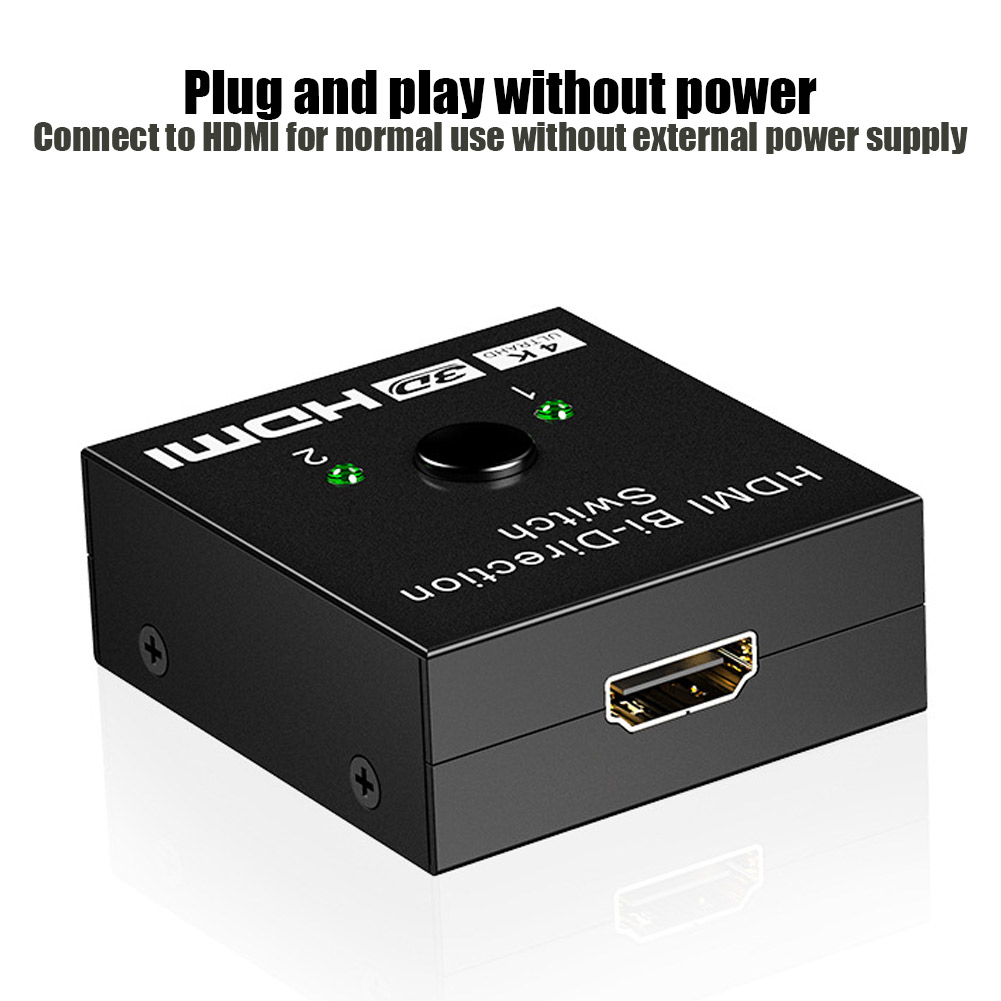 HDMI HDTV Switch Switcher Splitter Bi-Direction Hub Switch Support 4K High-definition VH99