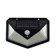 100 212 светодиодный солнечный светильник движения PIR Сенсор светодиодный солнечный светильник на солнечной батарее от солнца светильник Вод...