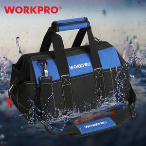 "WORKPRO Tool Bag 14/15/16"" Heavy Duty Tool Storage Bag Large Capacity Tool Organizer"