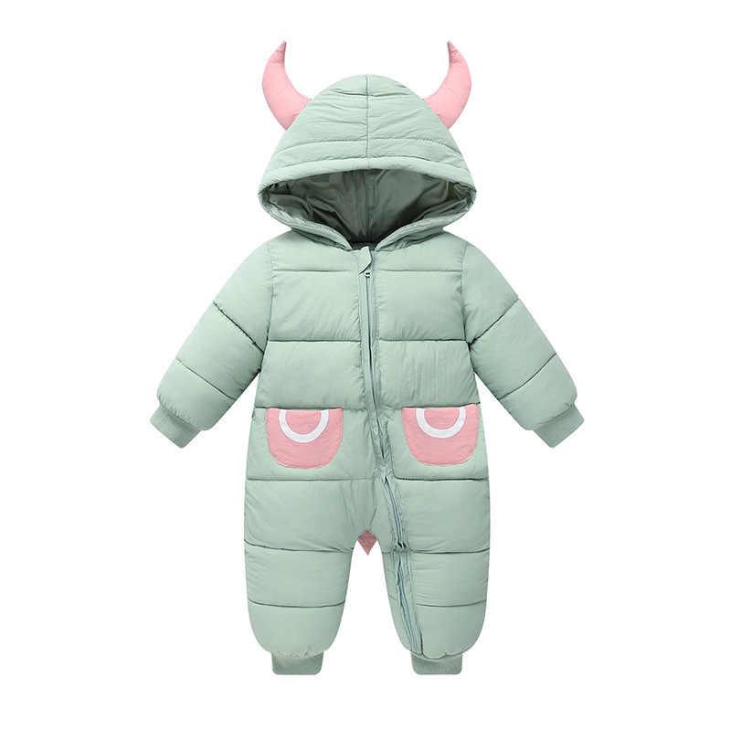 Новый стиль; Одежда для новорожденных и малышей; комбинезоны; милая теплая и Утепленная зимняя одежда для новорожденных; рождественское пальто