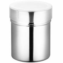 1pc Powder Dredger Stainless Steel Mesh Seasoning Jar Kitchen Sugar Salt Shaker