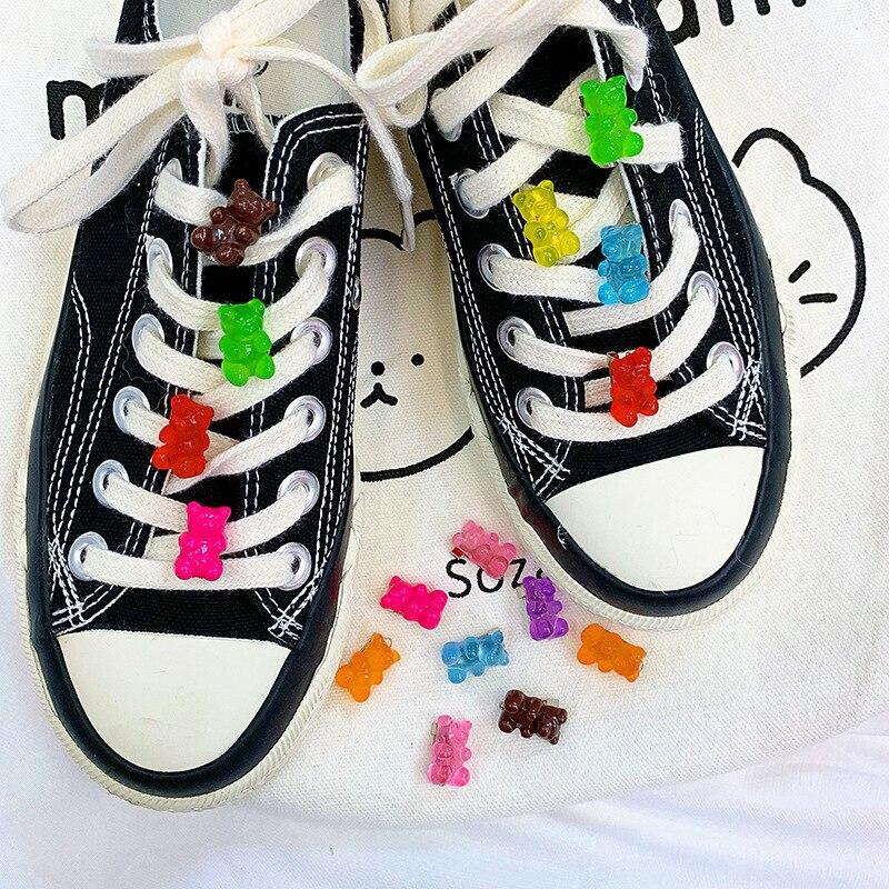 Kawaii Gummy Bear Enamel Pins for Women Kids Jackets Lapel Pin Button Badge Jewelry Cartoon Juicy Fruit Sugar Brooches  kids