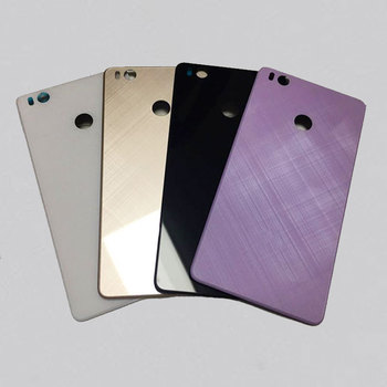 100% glass Original new battery cover For Xiaomi 4S Mi4S Back Battery Door Glass Housing Cover Case Replacement Repair