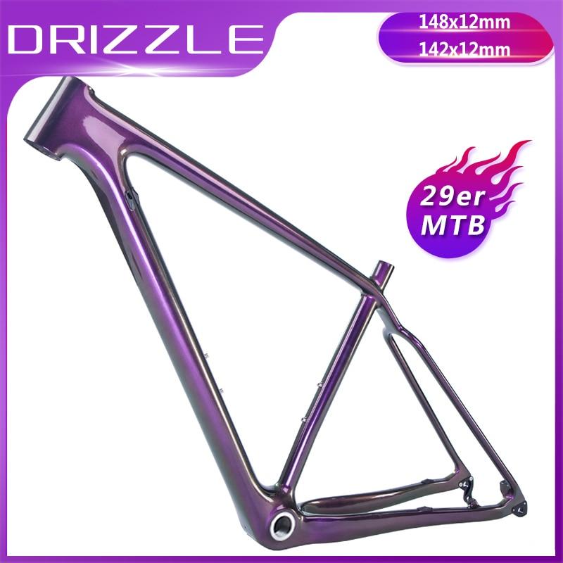 2019 Carbon Frames 29er Full Carbon Mountian Bike Frame 29inch MTB Bicycle Frame BOOST 142x12mm 148x12mm Bike Ultralight Frames