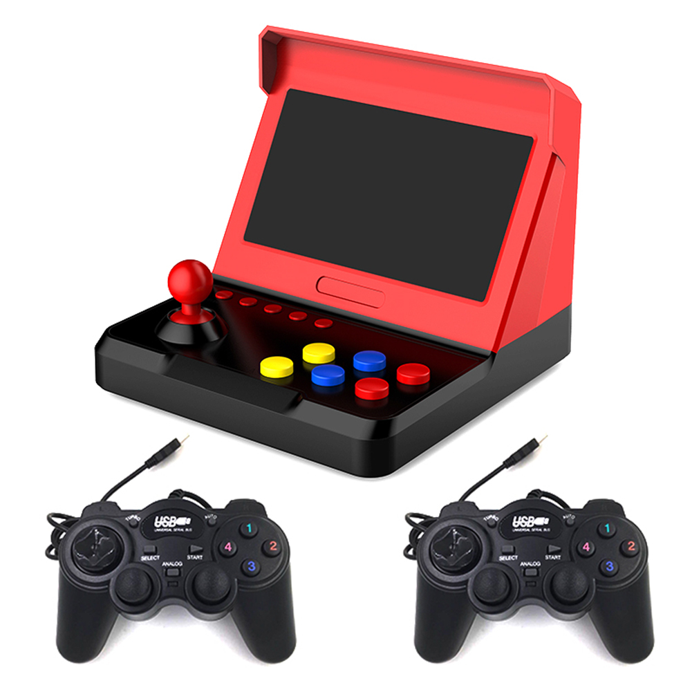New Retro Super Classic Game Mini TV 7 Inch Family TV Video Game Console Built-in 3600 Games Handheld Gaming Player Gift