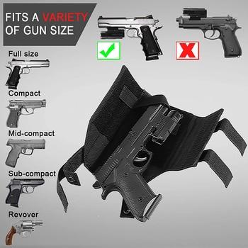 Tactical Molle Gun Holster Belt Pistol Holster for Universal Handgun Beretta Revolver Glock 1911 17 92 96 Airsoft Shotgun Pouch 3