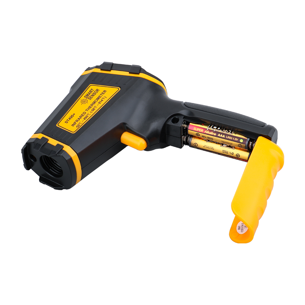 Non Contact Infrared Thermometer Gun to Measure Surface Temperature of Hazardous Object 3