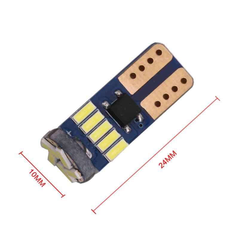 2020 nowa żarówka T10 samochód Led 194 T10 Led Canbus t10 15 SMD 4014 samochód światło sygnalizacyjne Led Parking stylizacja tablica rejestracyjna LightFog lampa
