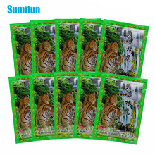 Patch baume du tigre pour les articulations, 80 pièces, rhumatismes, douleurs, herbes, plâtre médical, Patch Capsicum, autocollants anti-douleur