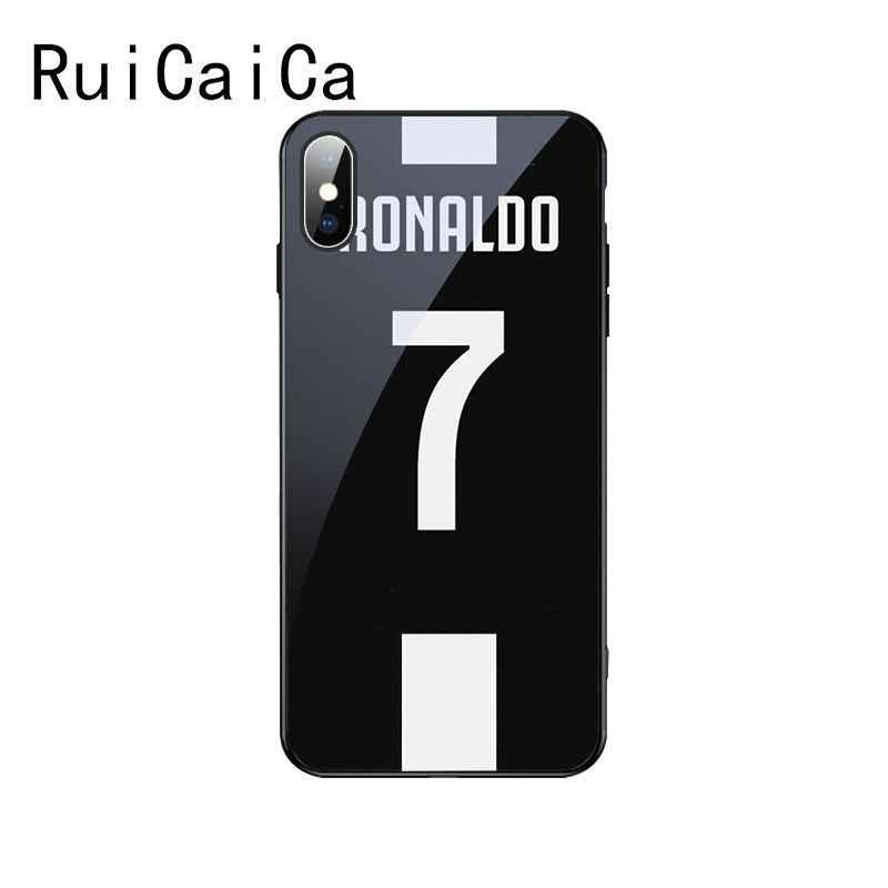 Ruicaica Cr7 Logo Cristiano Ronaldo 7 Football Diy Luxury High End Protector Case For Apple Iphone 8 7 6 6s Plus X Xs Max Xr Aliexpress