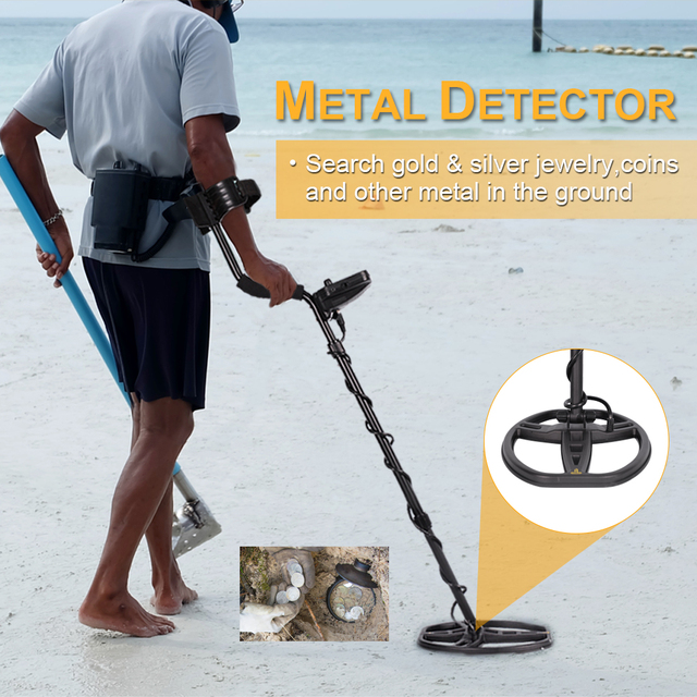 TIANXUN TX-850 Professional Metal Detector Underground Depth 2.5m Scanner Search Finder Gold Detector Treasure Hunter Pinpointer 5