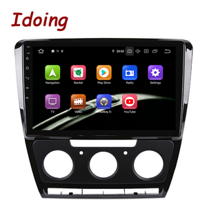 """Image 3 - Idoing 10.2""""Android For SkodaOctavia 2 A5 2008 2013 Car Radio Multimedia Video Player Navigation GPS Accessories Sedan No dvd"""
