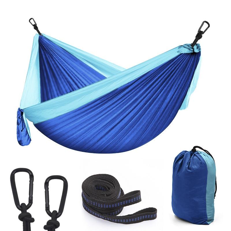 Nylon Hammock Chair Swing-Tree Hangmat Backyard Furniture Bed Garden Ultralight Sleep