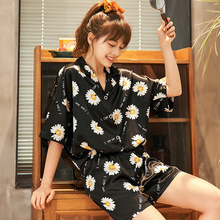 Sexy Lingerie silk Female Sleepshirt Summer Girls Nightdress Silk pajamas sleepwear  women Comfortable Nightgown