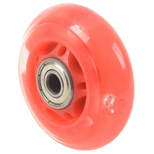 1 Pair 8mm Dia 608ZZ Bearing Inline Scooter Skating Skate Wheel Red