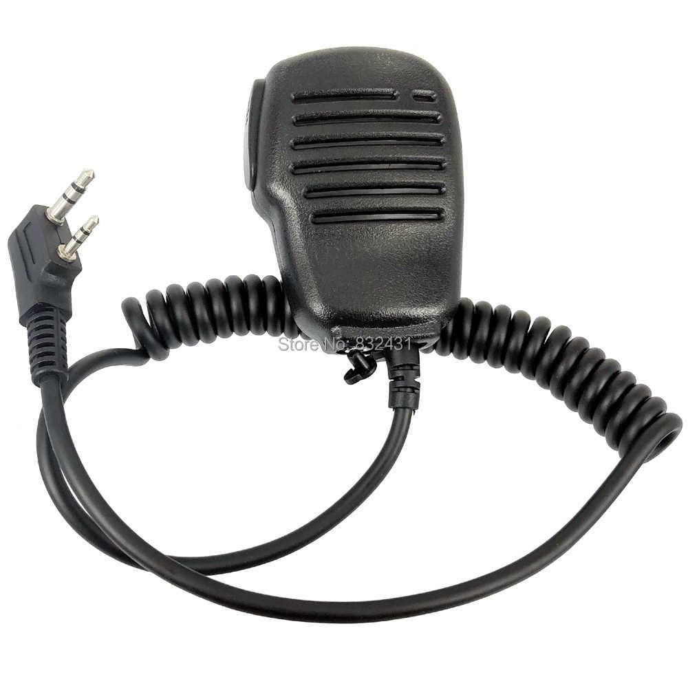 Nieuwe Speaker Mic Microfoon Voor Kenwood TK BAOFENG UV-5R BF-888S QUANSHENG PUXING TYT Walkie Talkie Walkie Talkie