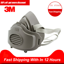 Respirator Dust-Mask GAS-FILTER Cotton-Cover Construction-Dust Haze Half-Face Safety