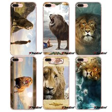 Für Huawei G7 G8 P7 P8 P9 Lite Ehre 4C 5X 5C 6X Mate 7 8 9 Y3 Y5 Y6 II 2 Pro 2017 Narnia Aslan Zubehör Phone Cases Covers(China)