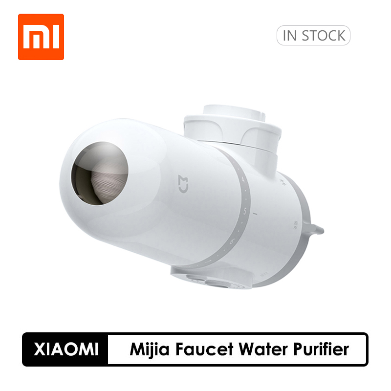 Xiaomi Mijia Faucet Water Purifier Kitchen Tap Water Filter Gourmet Kitchen Filtration System Washroom Tap Purifier With 4 Filte