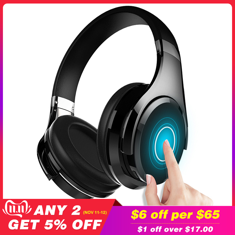 ZEALOT B21 Over Ear Bass Stereo Bluetooth Headphone Wireless Headset Touch Control Noise Cancelling With Microphone