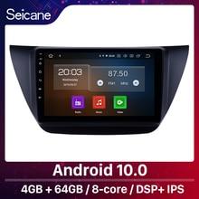 Seicane 9 インチのアンドロイド 10.0 車のマルチメディアプレーヤーのgps三菱ランサーix 2006 2007 2010 wifiとcarplay bluetooth usb