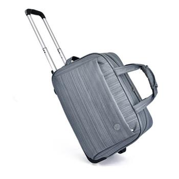 Bagaż na kółkach dla kobiet mężczyzn walizka na co dzień w paski walizka na kółkach torba podróżna na kółkach walizka bagażowa na kółkach tanie i dobre opinie AMLETG Oxford 1 9kg Naprawiono kółka 31cm a6696 Unisex 50cm Bagaż podręczny ons 26cm