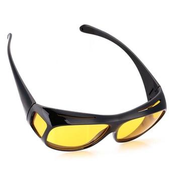 Car Night Vision Sunglasses Night Driving Glasses Driver Goggles Unisex Sun Glasses UV Protection Sunglasses Eyewear 4