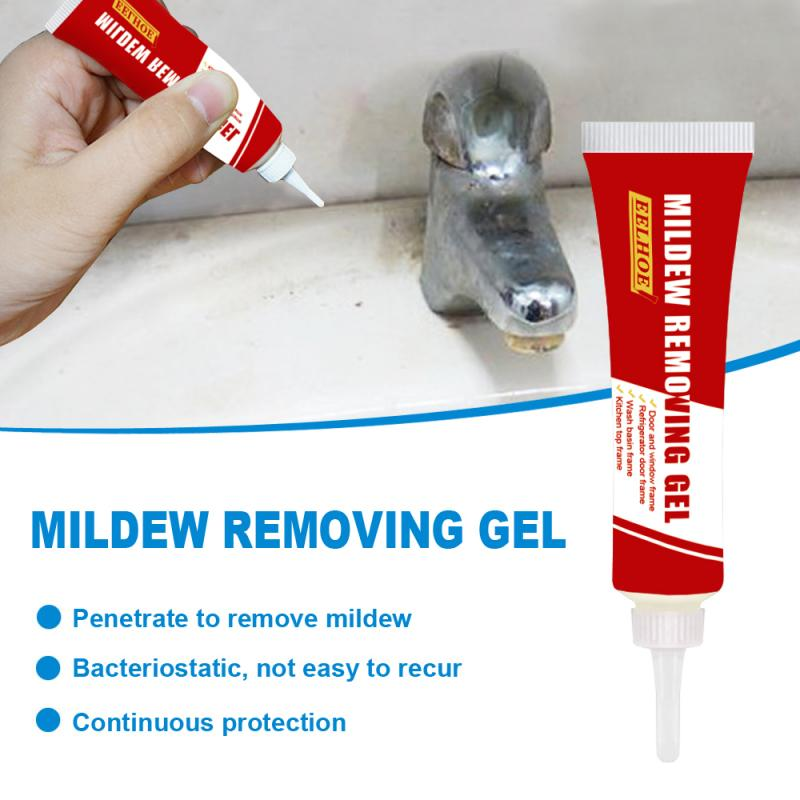 Household Chemical Miracle Deep Down Wall Mold Mildew Remover Cleaner Caulk Gel Mold Remover Gel Glass Glue Cleaning Paste