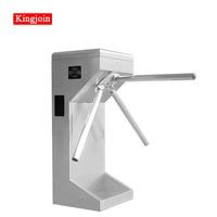 KINGJOIN Tripod Turnstile Series 304 stainless steel tripod swing turnstile with RFID card for thoroughfare