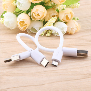 Кабель Micro USB type C, короткий кабель быстрой зарядки 15 см для samsung, Xiaomi, huawei, Android, телефонный кабель для синхронизации данных, usb-адаптер