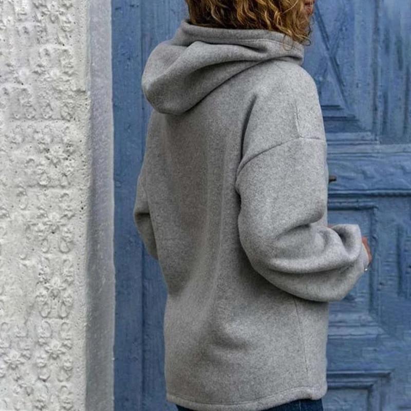 2020 Autumn Print Heart Paw Women's Hooded Sweatshirts 1