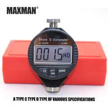Durometer Shore MAXMAN Digital-Tester for Plastic Rubber Tire 0-100 A/c/d