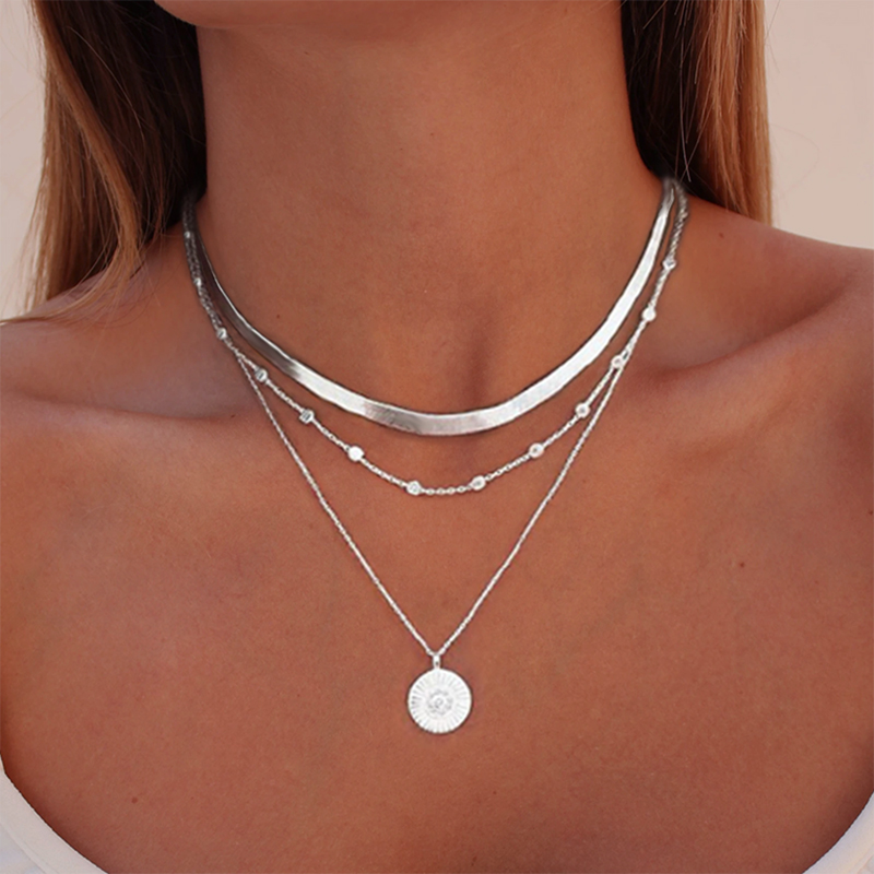 Tibetan Brown Agate Oval Celtic Knot Pendant Necklace
