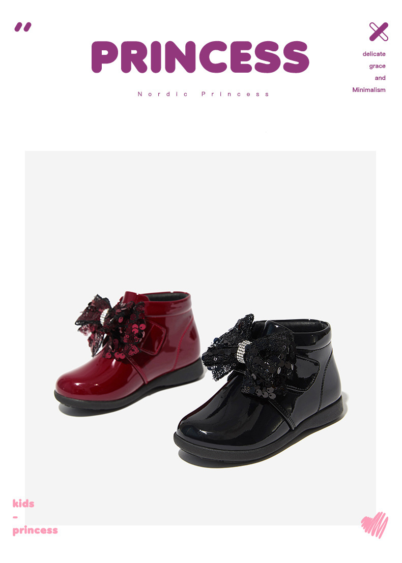 NWT Maroon Rhinestone Toddler Girls Fashion Hiker Boots